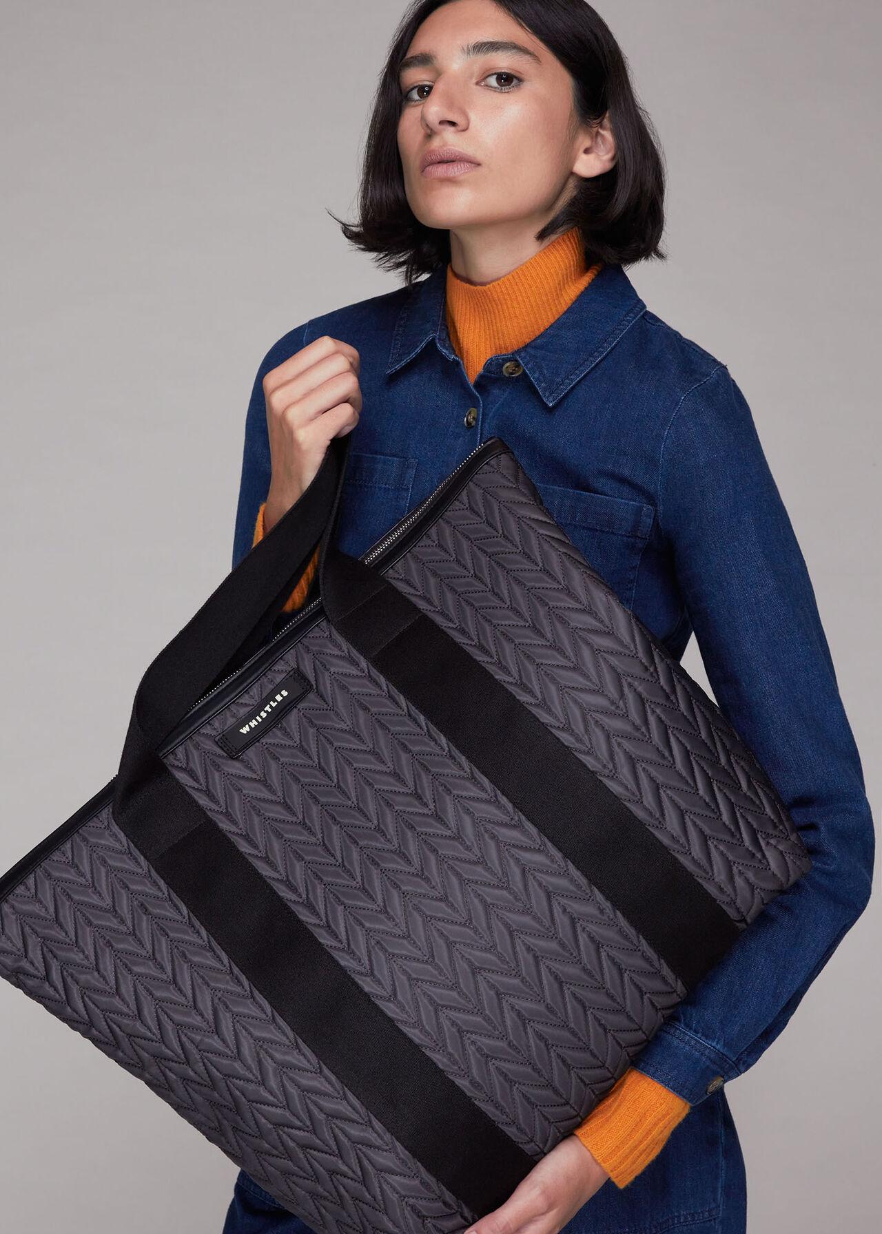 Cobham Quilted Nylon Bag
