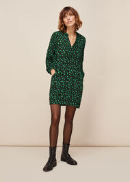 Winter Ditsy Sack Dress