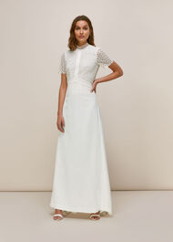 Scarlett Wedding Dress Ivory