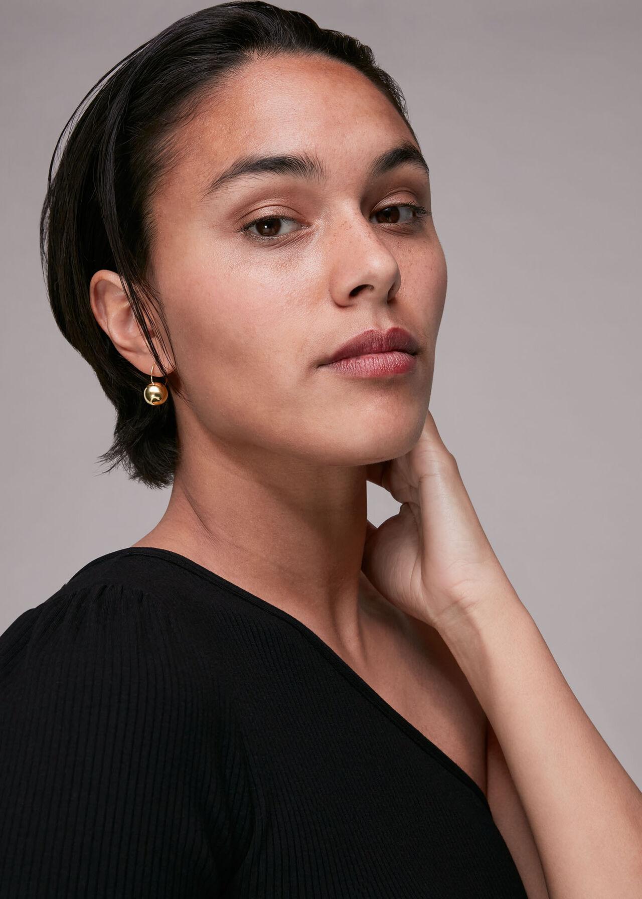 Sphere Hook Earring