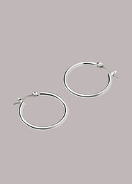 Classic Hoop Earring Silver