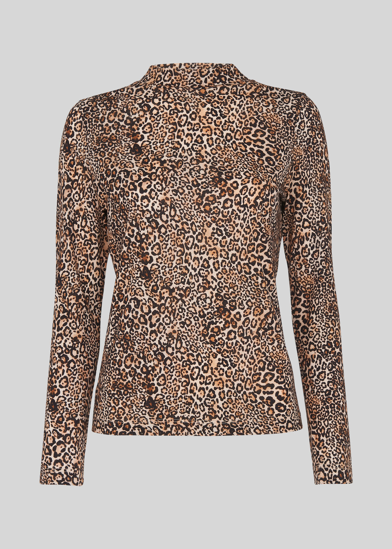 Leopard Print Essential Top Leopard Print