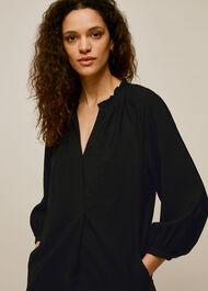 Enora Dress Black