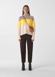 Cashmere Stripe Knit Multicolour
