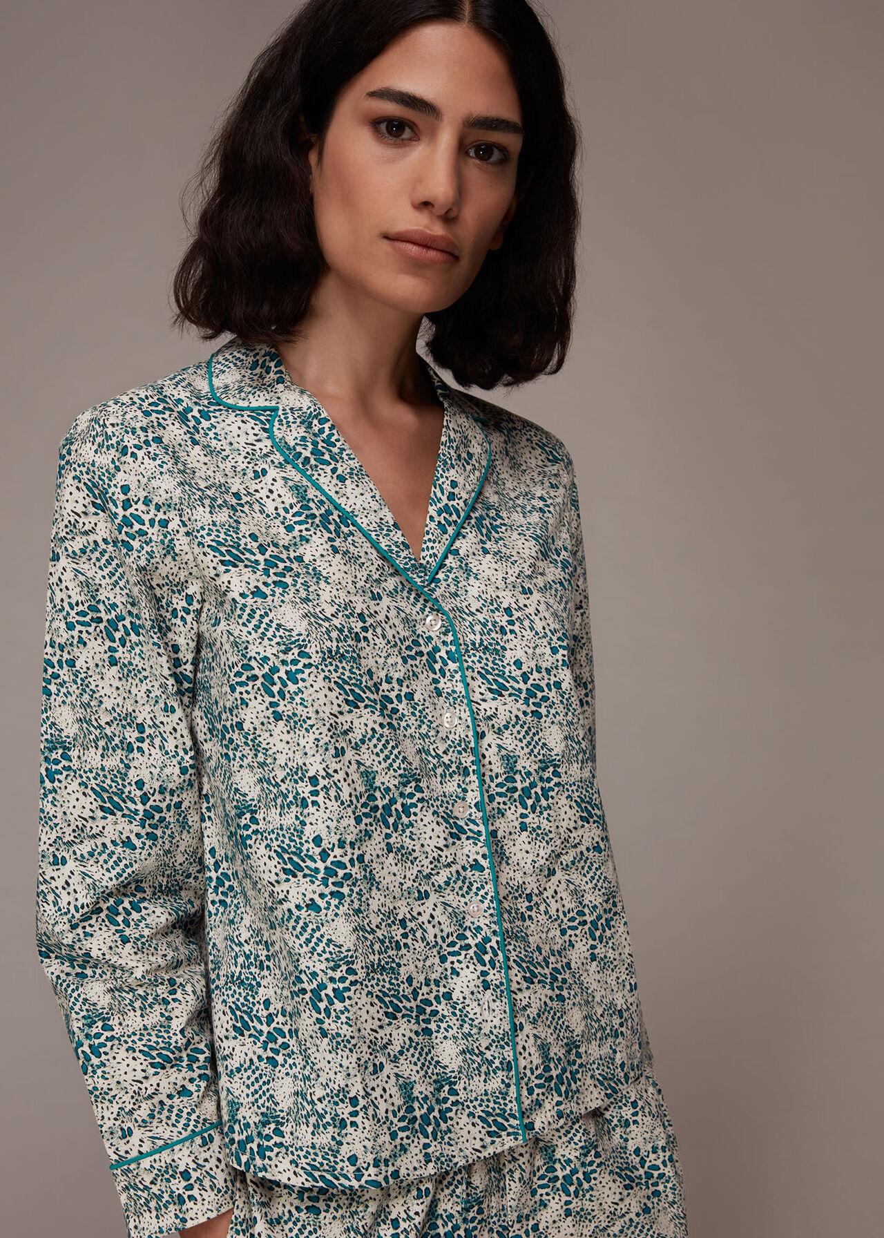 Leopard Print Cotton Pyjamas