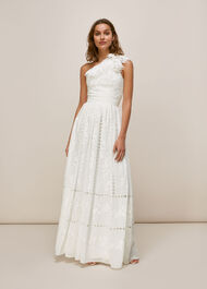 Adelaide Wedding Dress Ivory/Multi