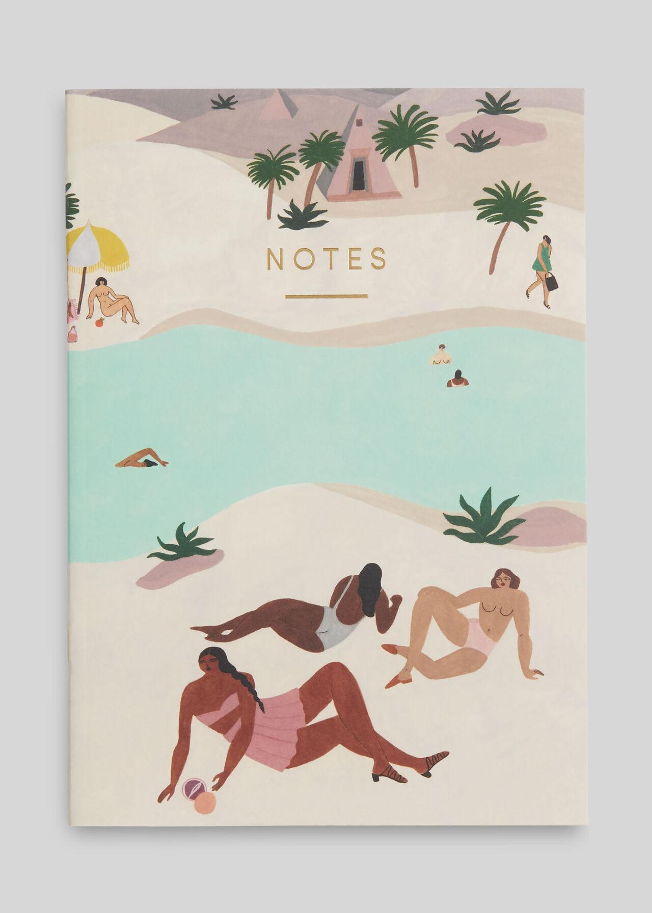 Wrap Desert River Notebook Multicolour
