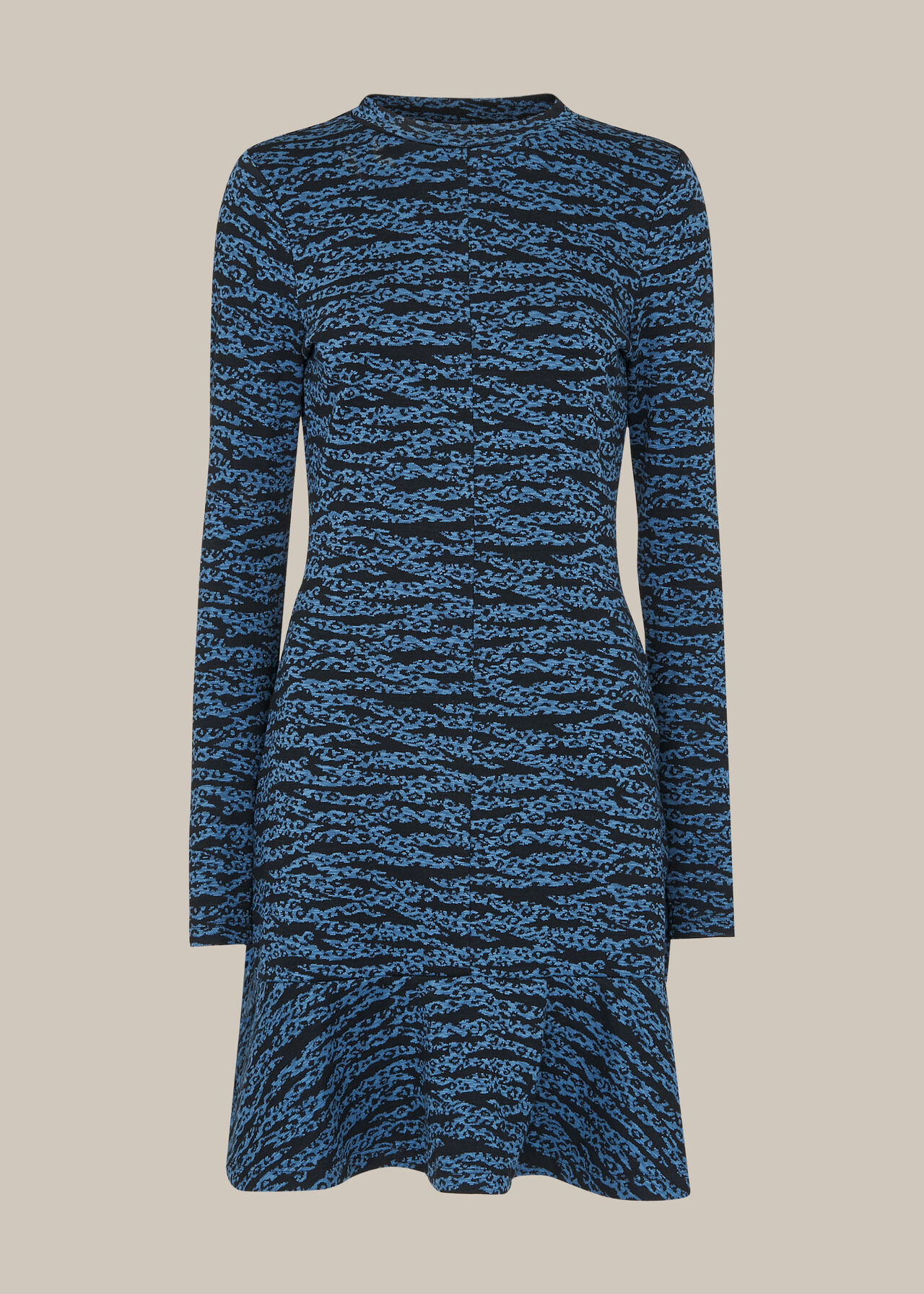 Tiger Leopard Flippy Dress