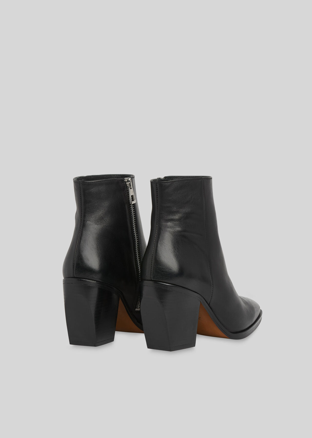 Grove Western Ankle Boot Black