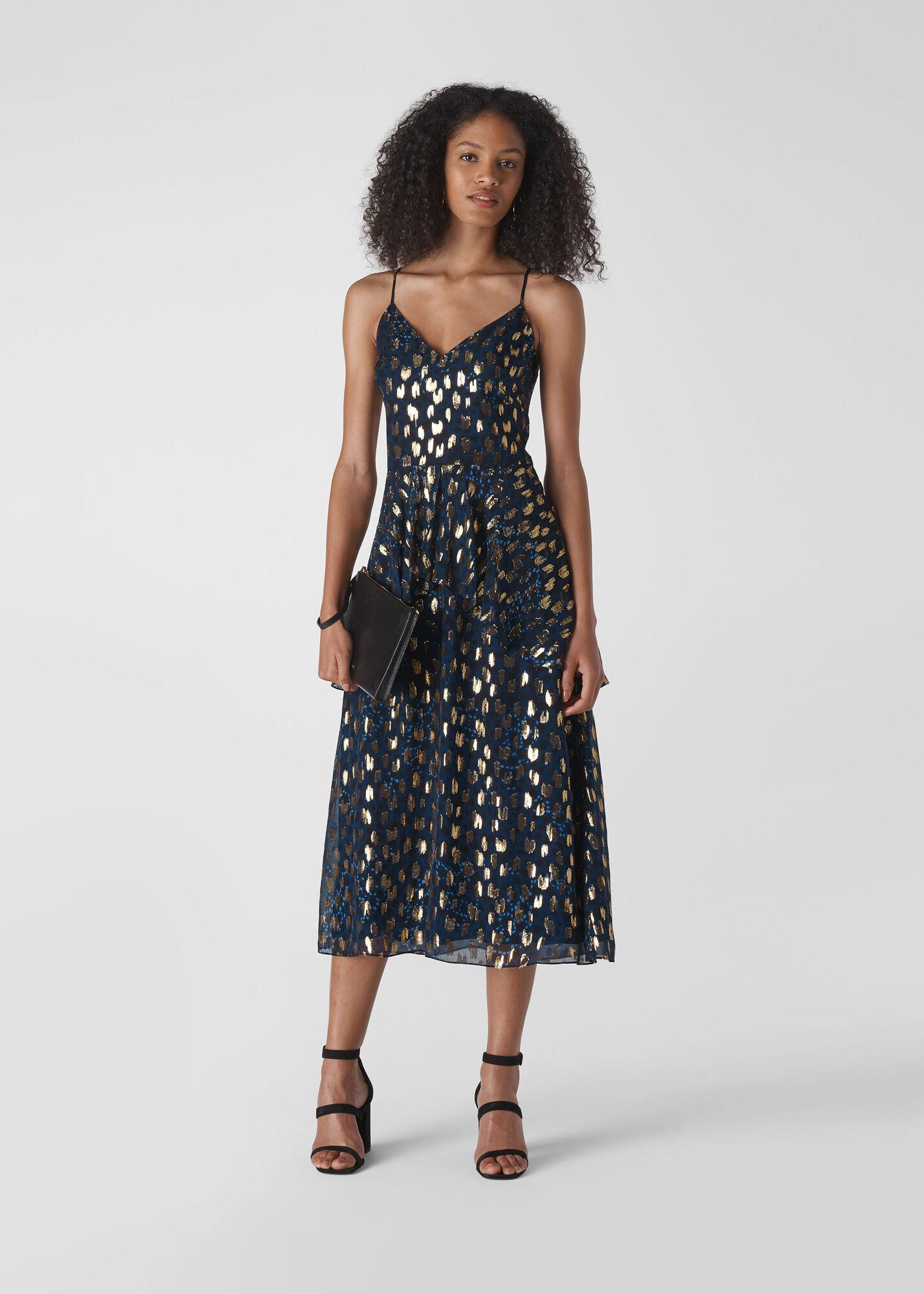 Leopard Christmas Dress