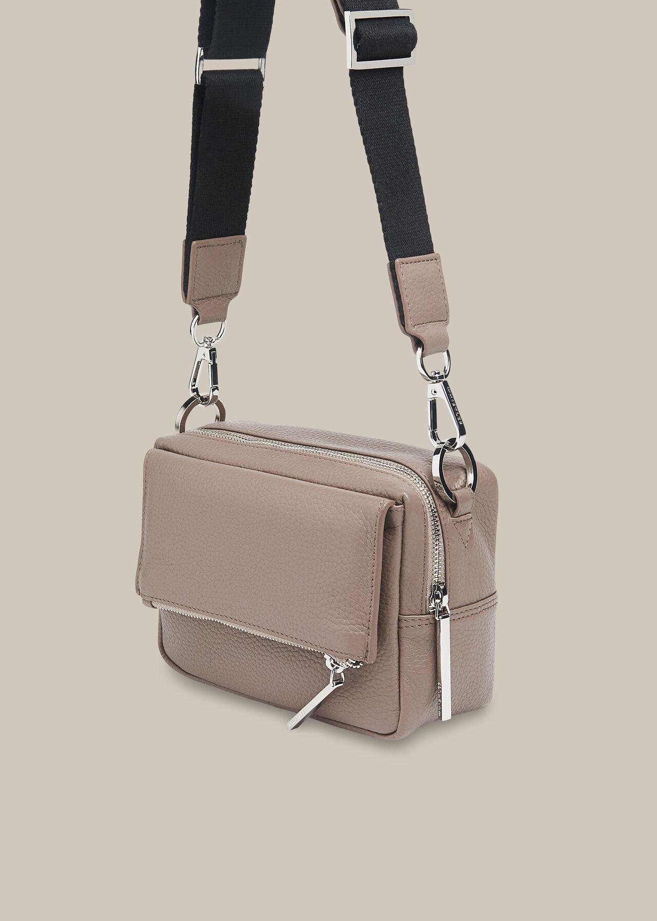 Bibi Crossbody Bag Dark Grey