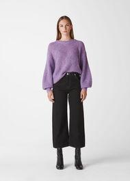 Sophia Mohair Sweater Lilac