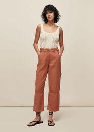 Amenia Cargo Trouser Pink