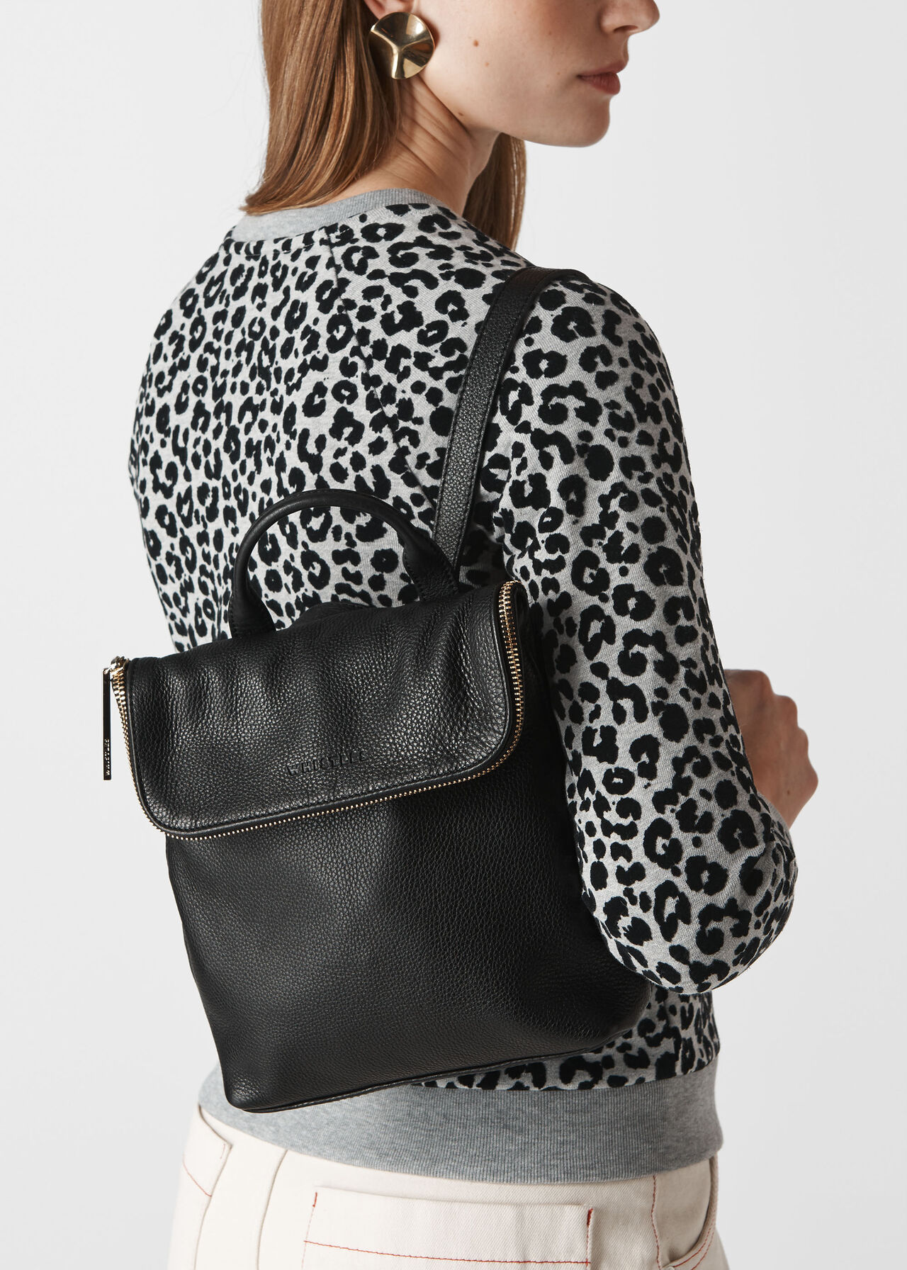 Mini Verity Backpack Black