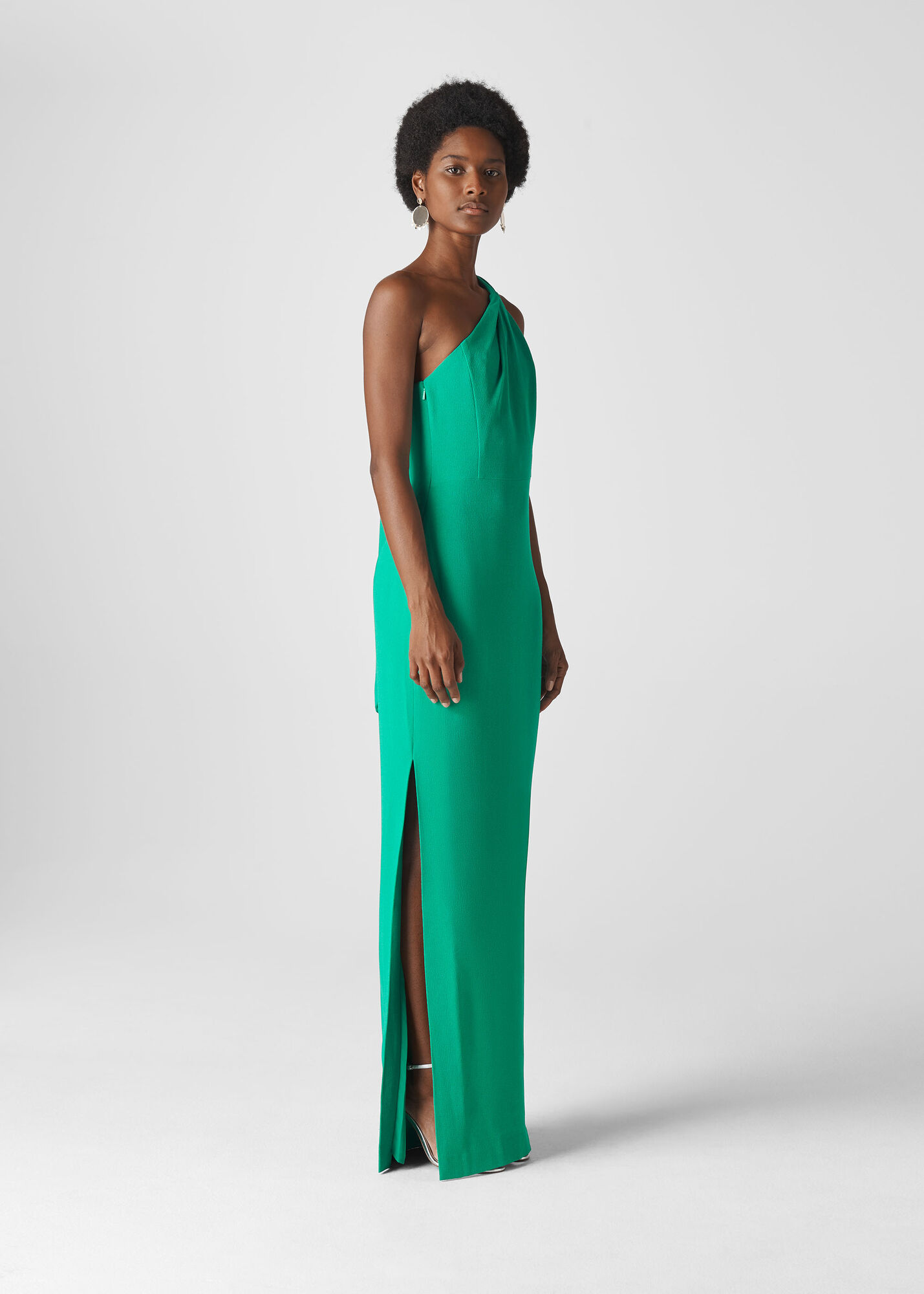 Bethan One Shoulder Maxi Dress