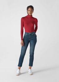 Essential Polo Neck Red
