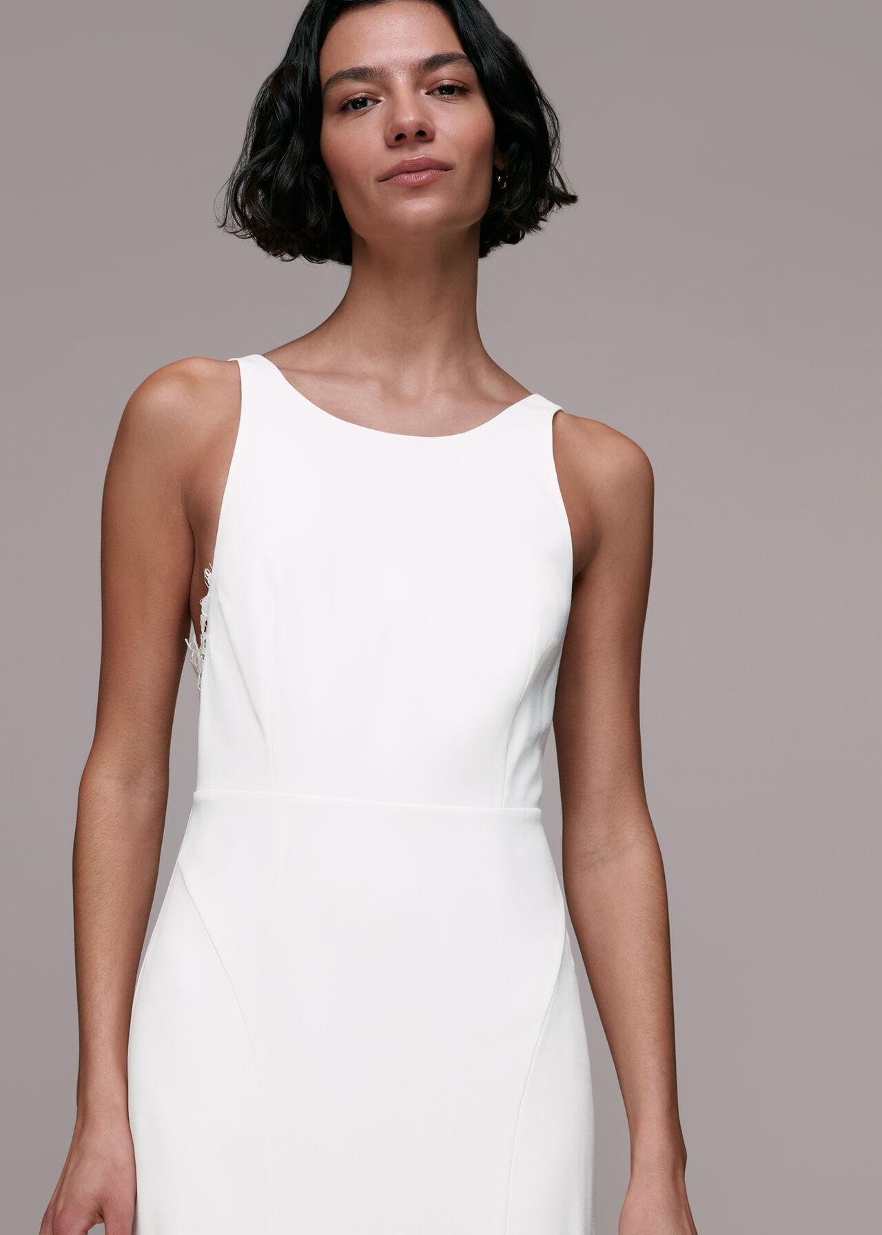 Lina Lace Insert Wedding Dress