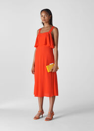 Jamima Dress Flame