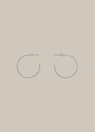 Engraved Hoop Earring