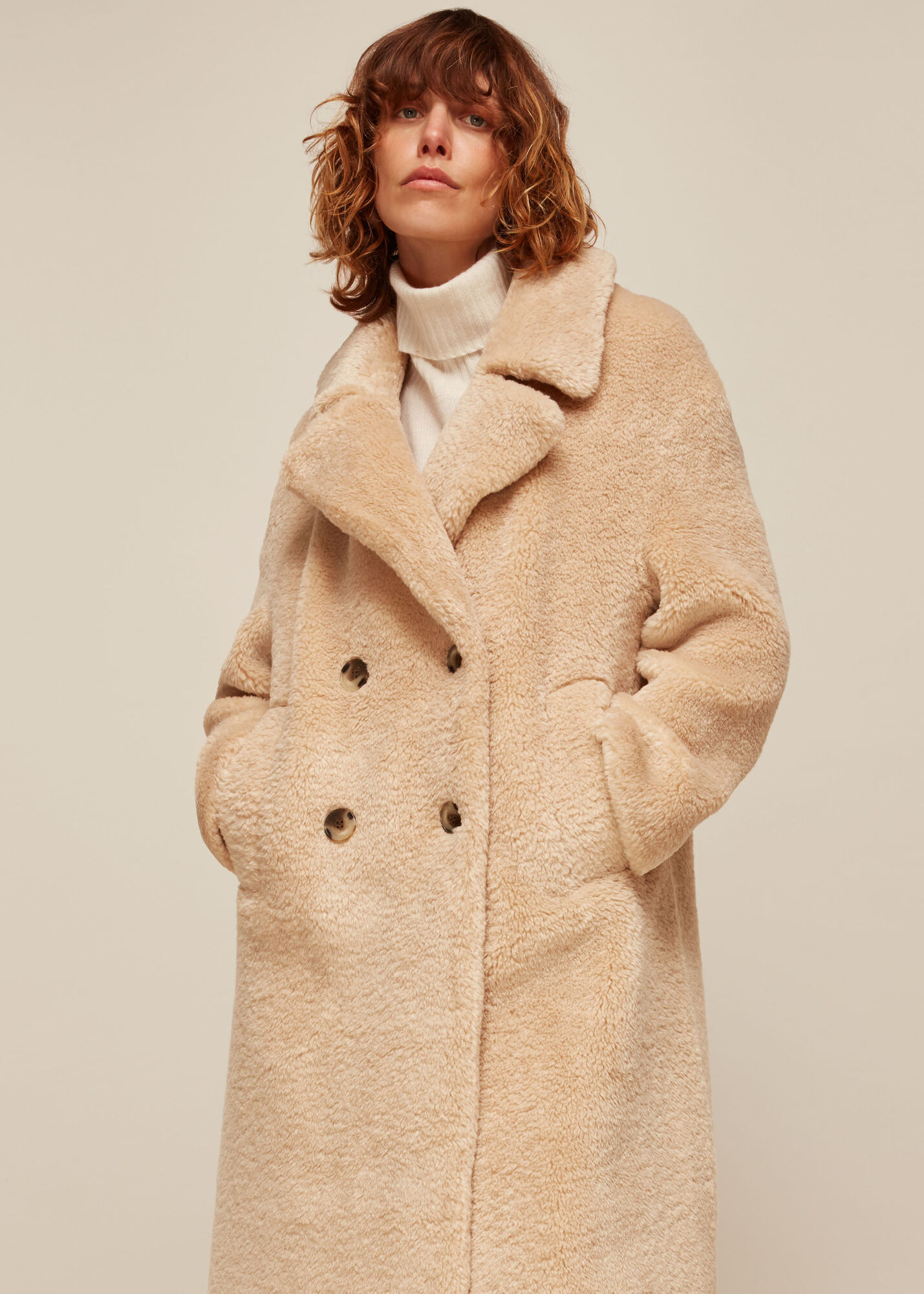 Teddy Double Breasted Coat