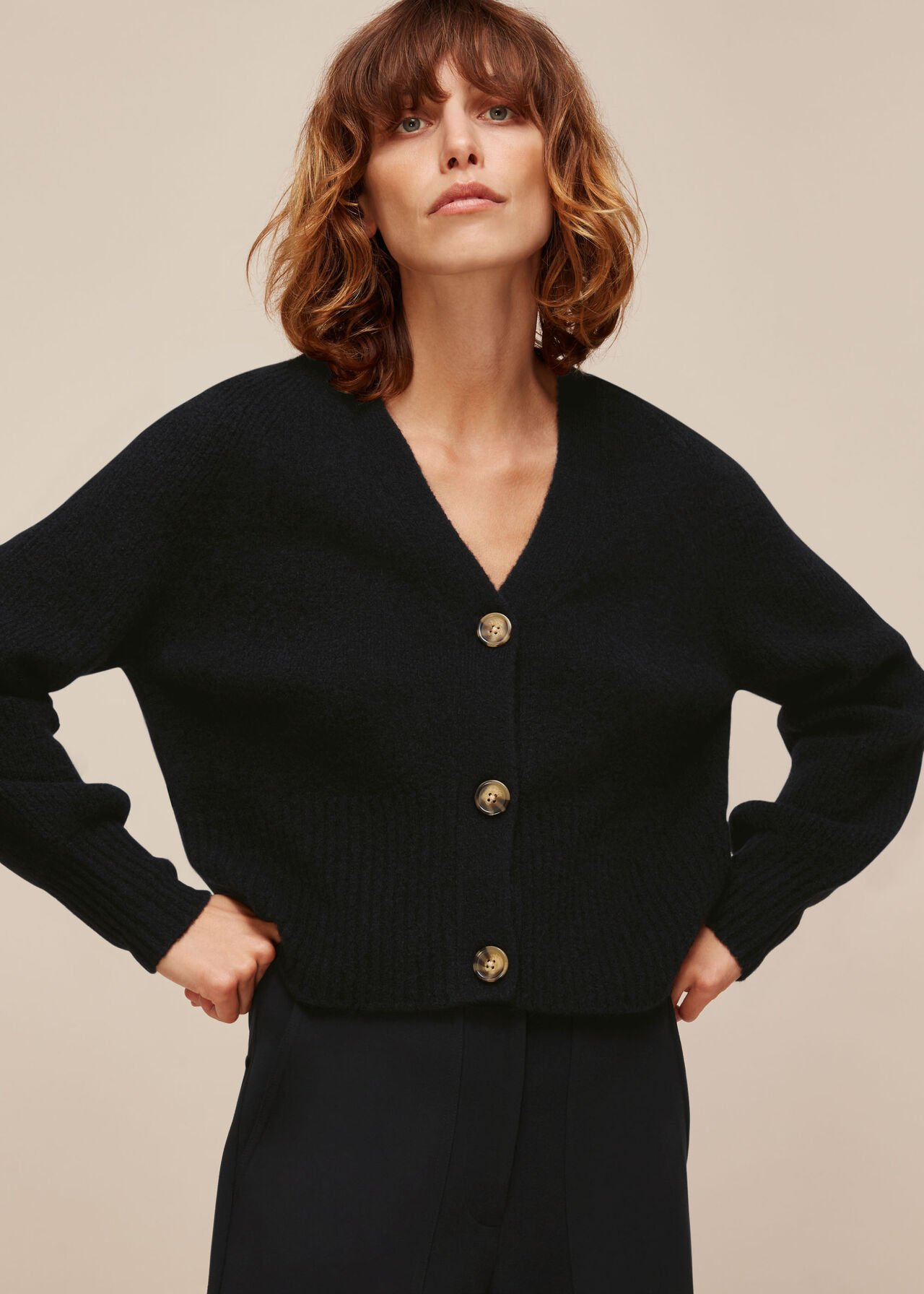Full Sleeve Knitted Cardigan