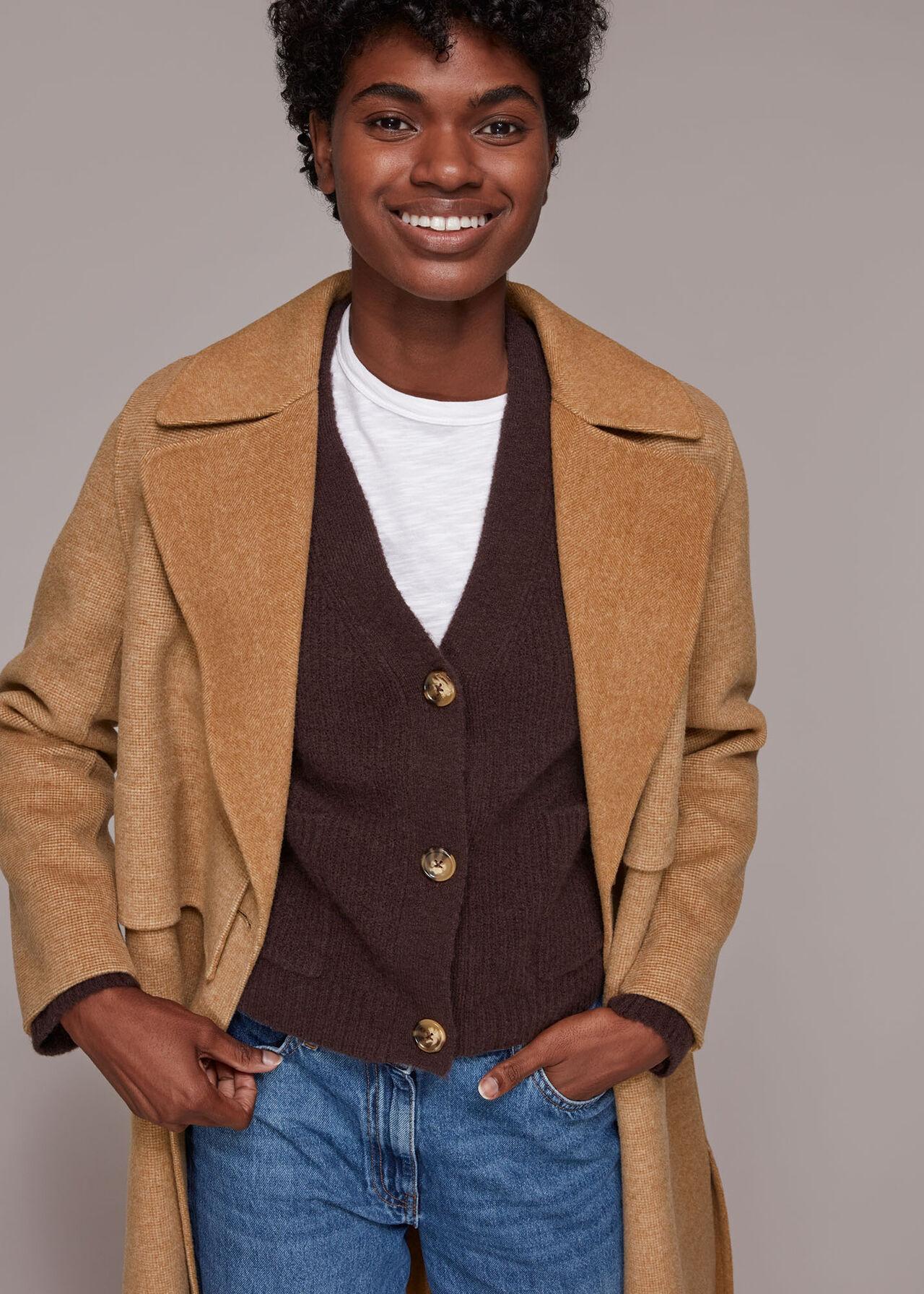 Yasmin Double Faced Wool Coat