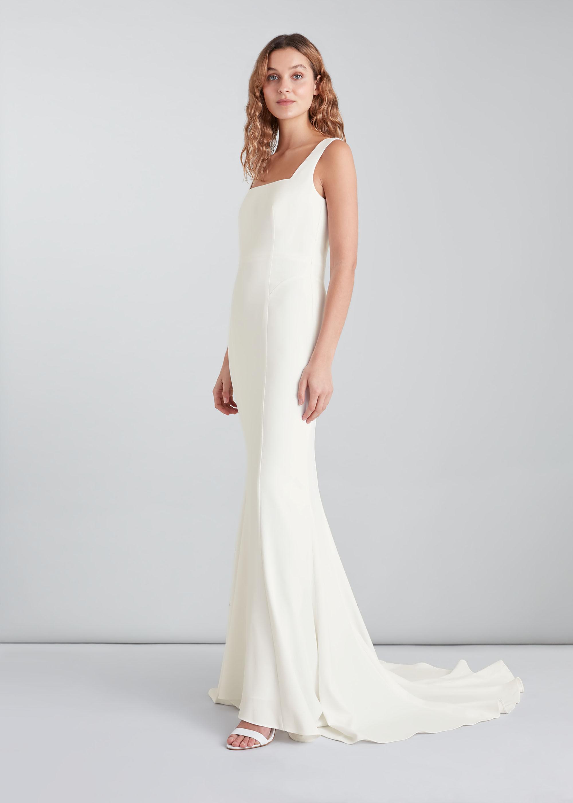 Whistles Women Mia Square Neck Wedding Dress
