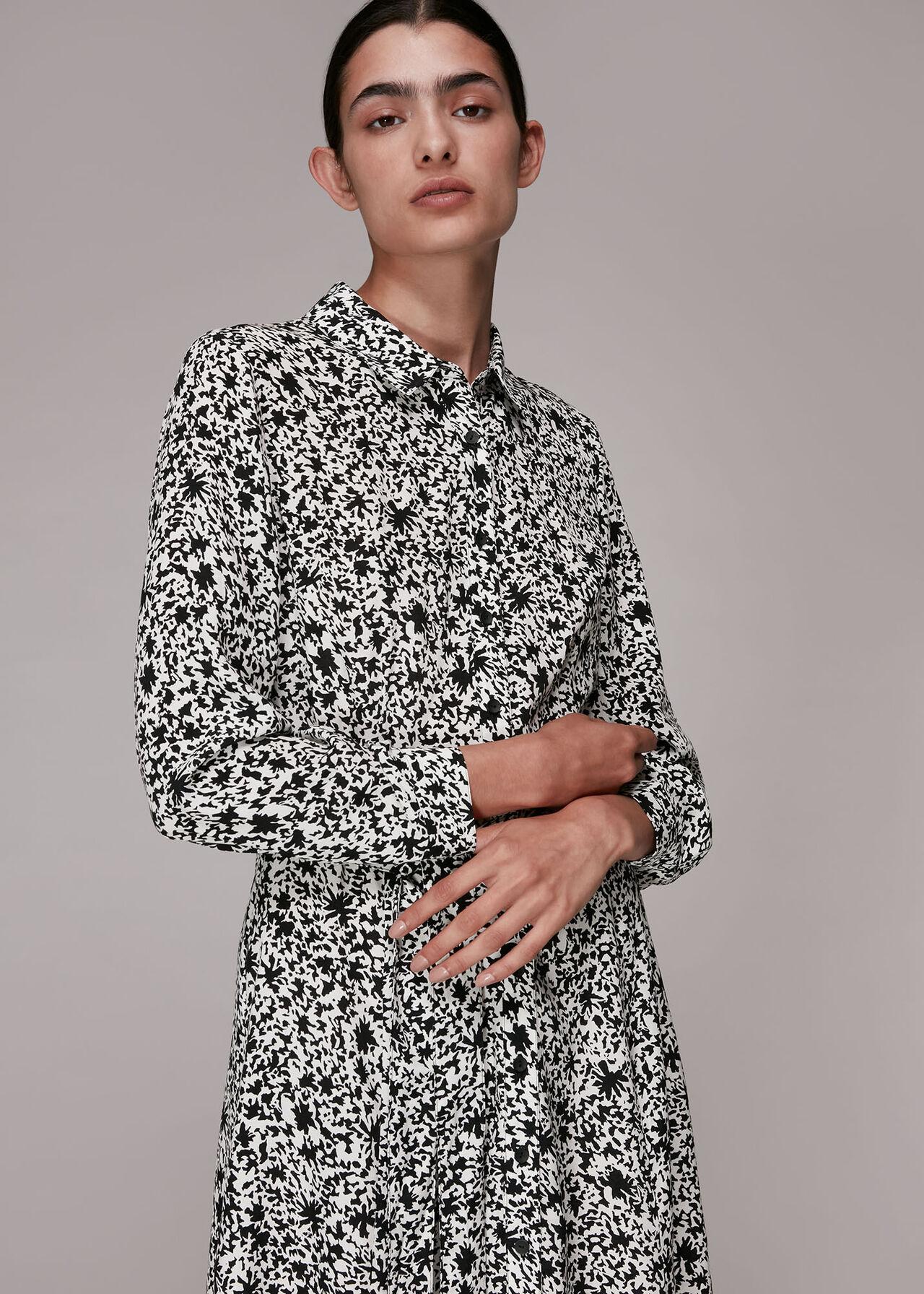 Eucalyptus Print Shirt Dress