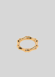 Bamboo Ring Gold/Multi