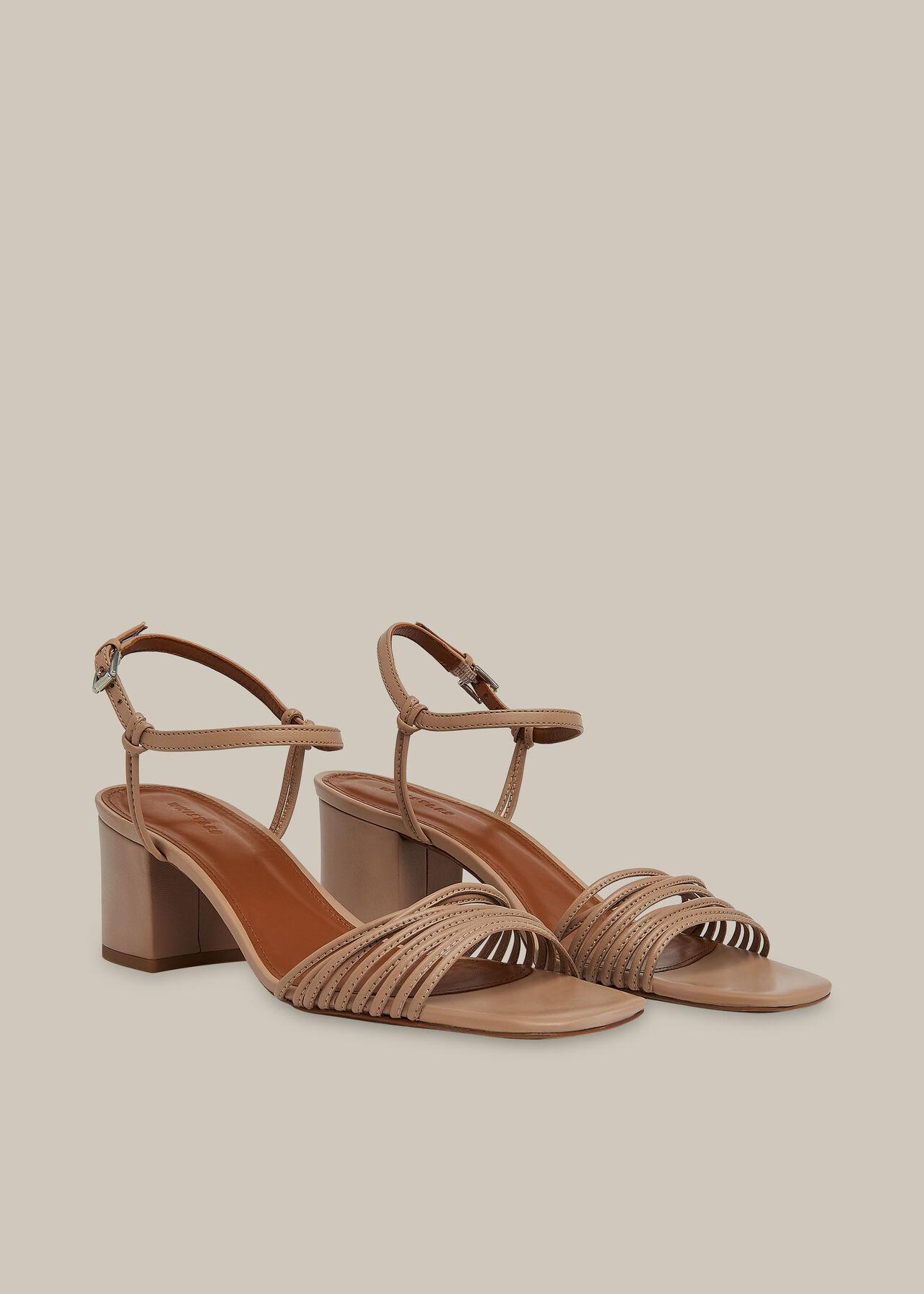 Hana Multi Strap Sandal NUDE