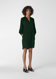 Enora Dress Dark Green