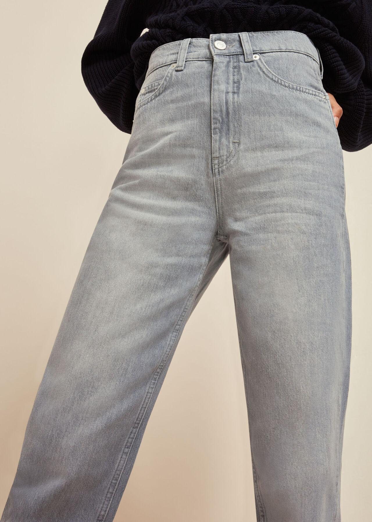 Authentic Barrel Leg Jean