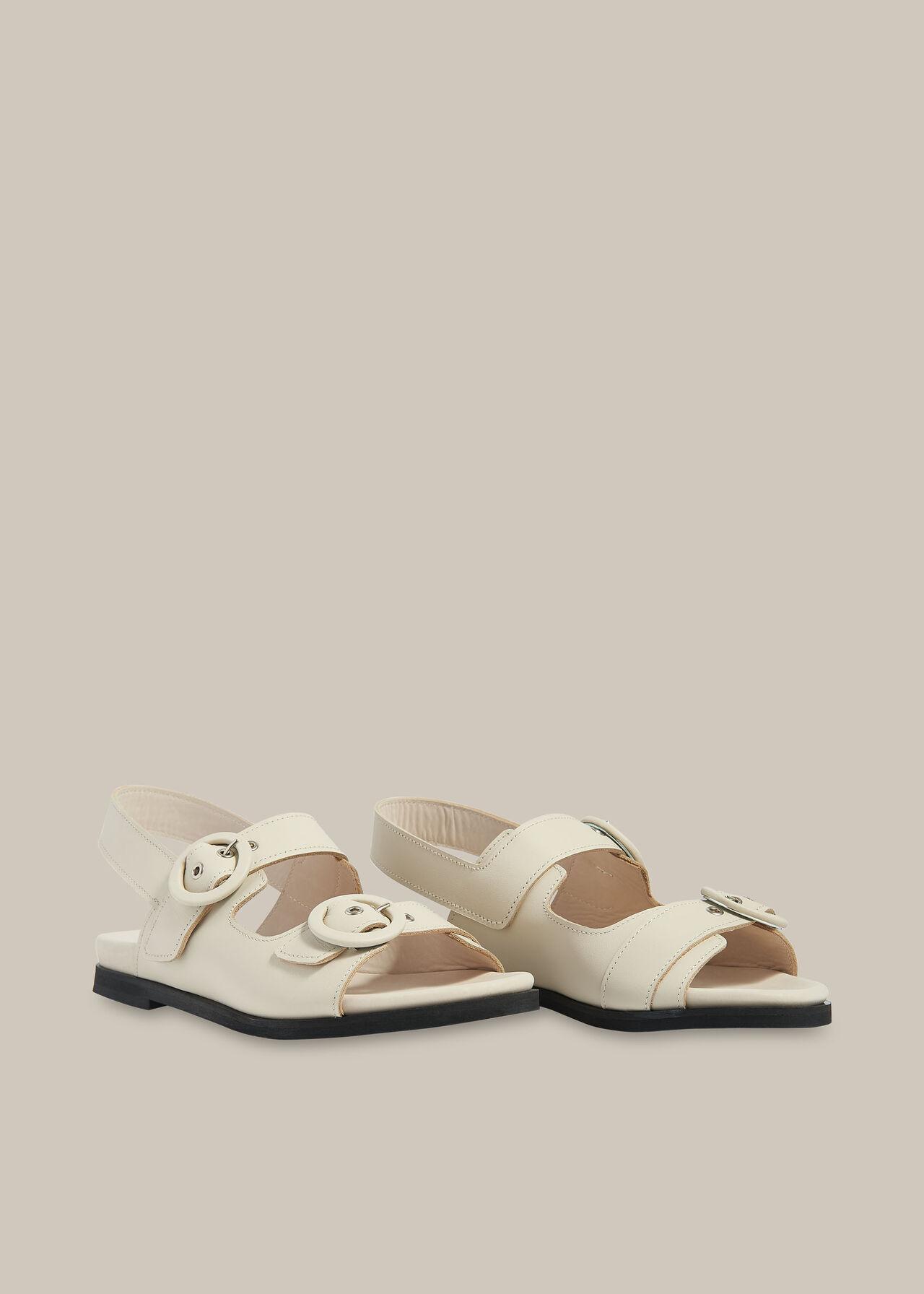 Marcie Double Buckle Sandal