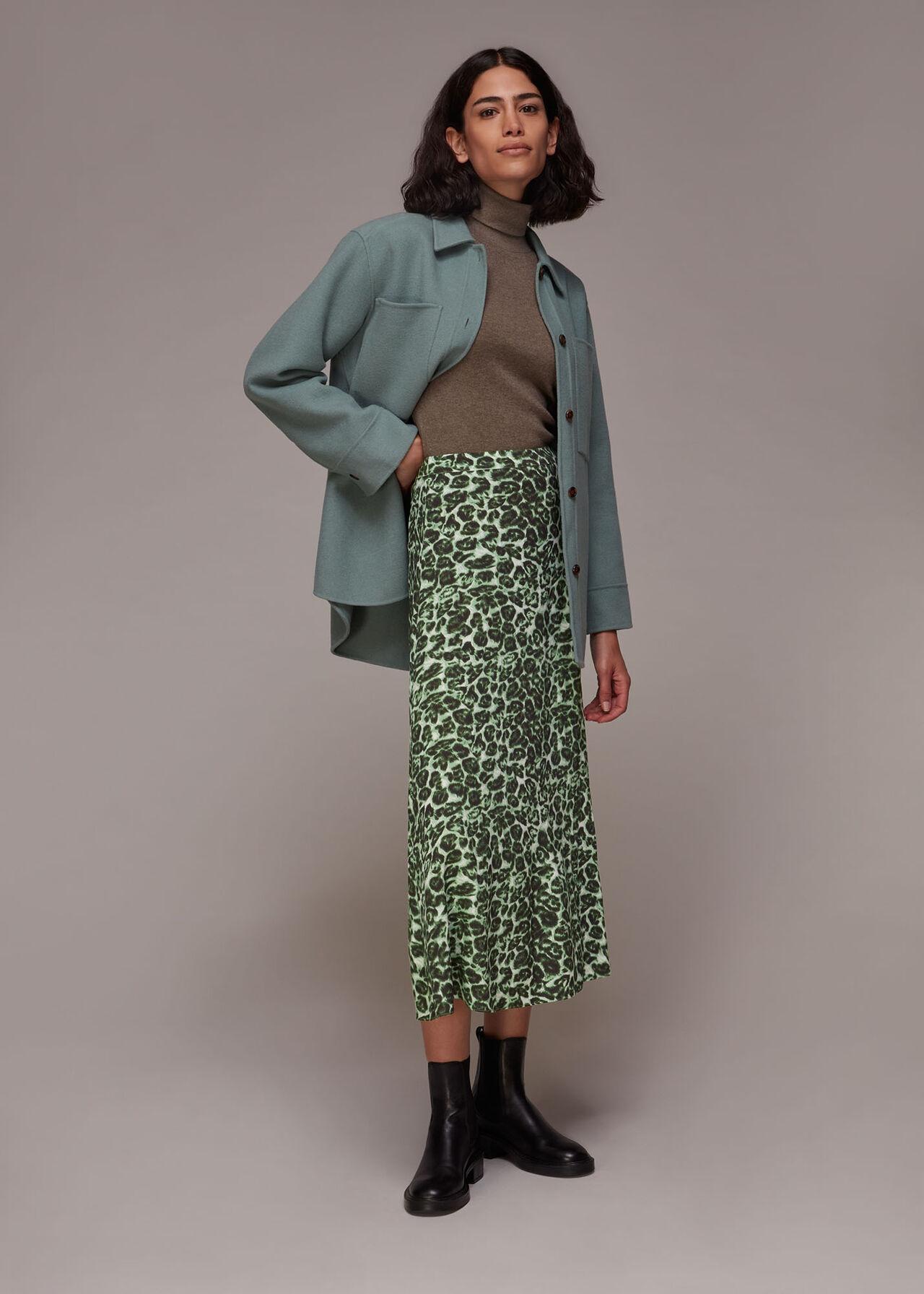 Clouded Leopard Skirt