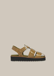 Kendra Croc Sandal
