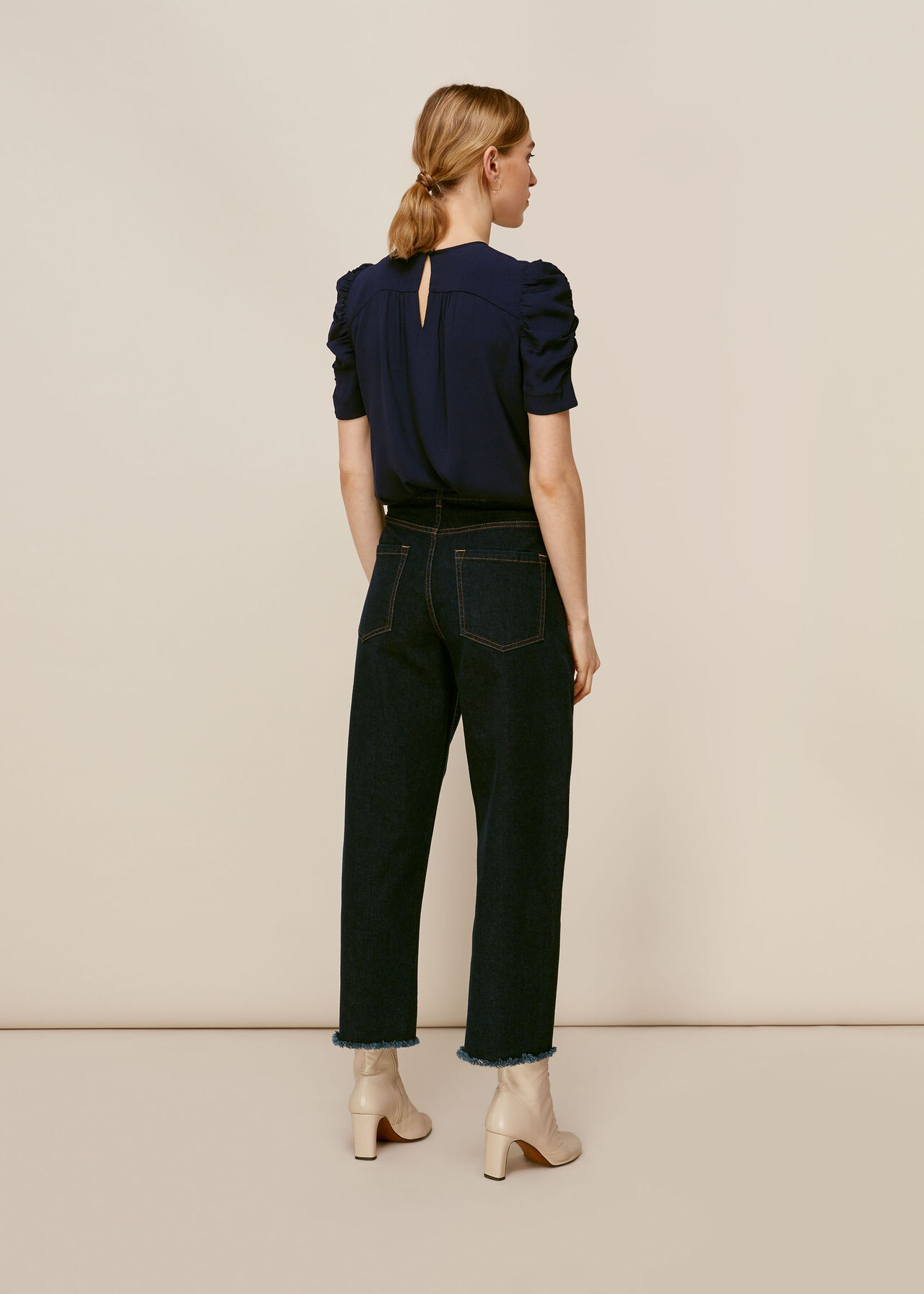 Nelly Shell Top Navy