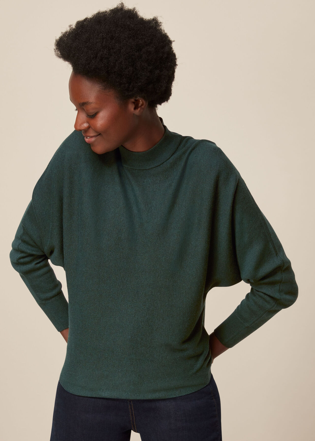 Dolman Silk Mix Knit
