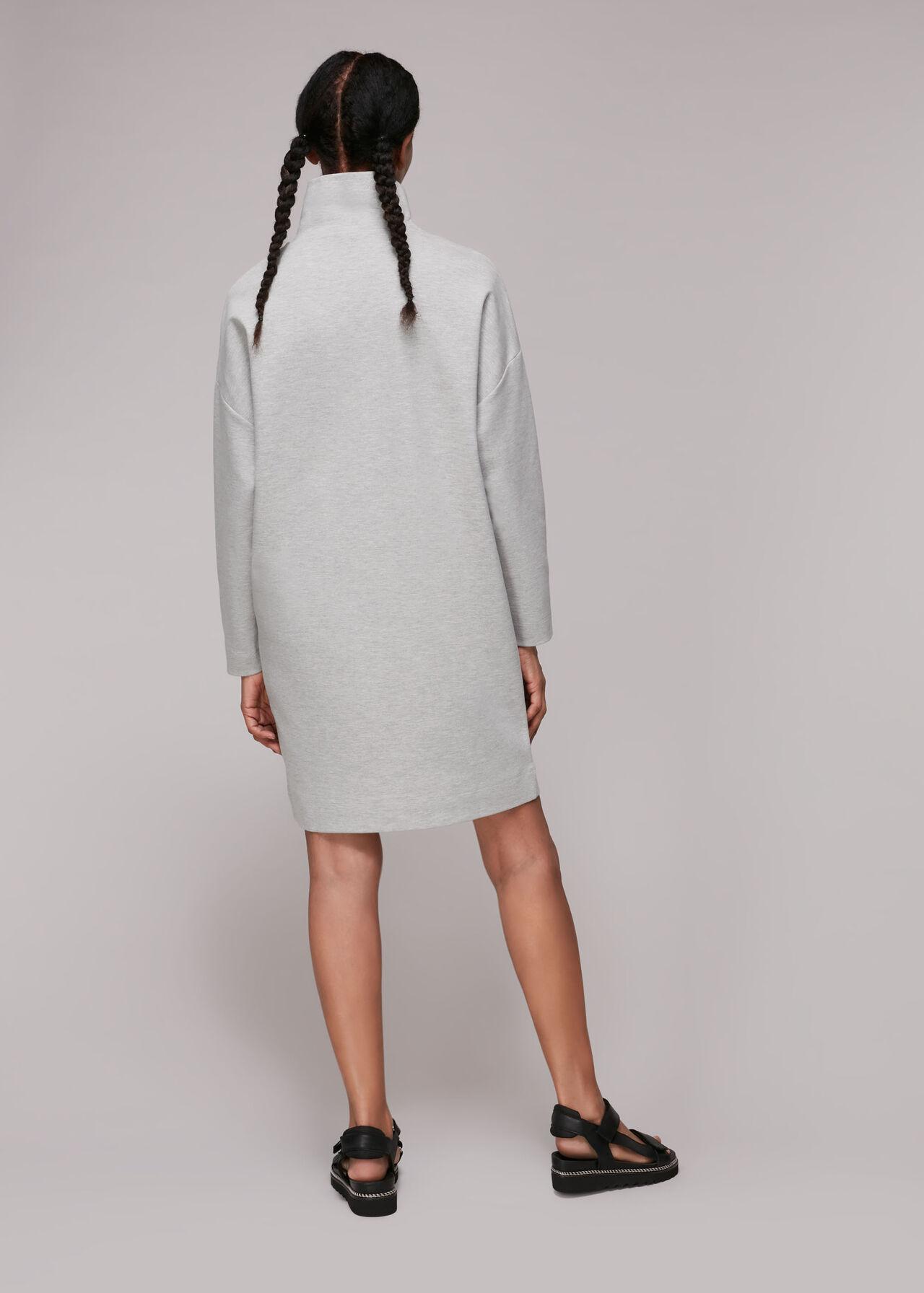 Funnel Neck Sweat Dress
