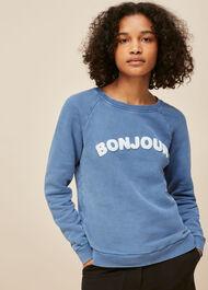 Bonjour Logo Sweatshirt