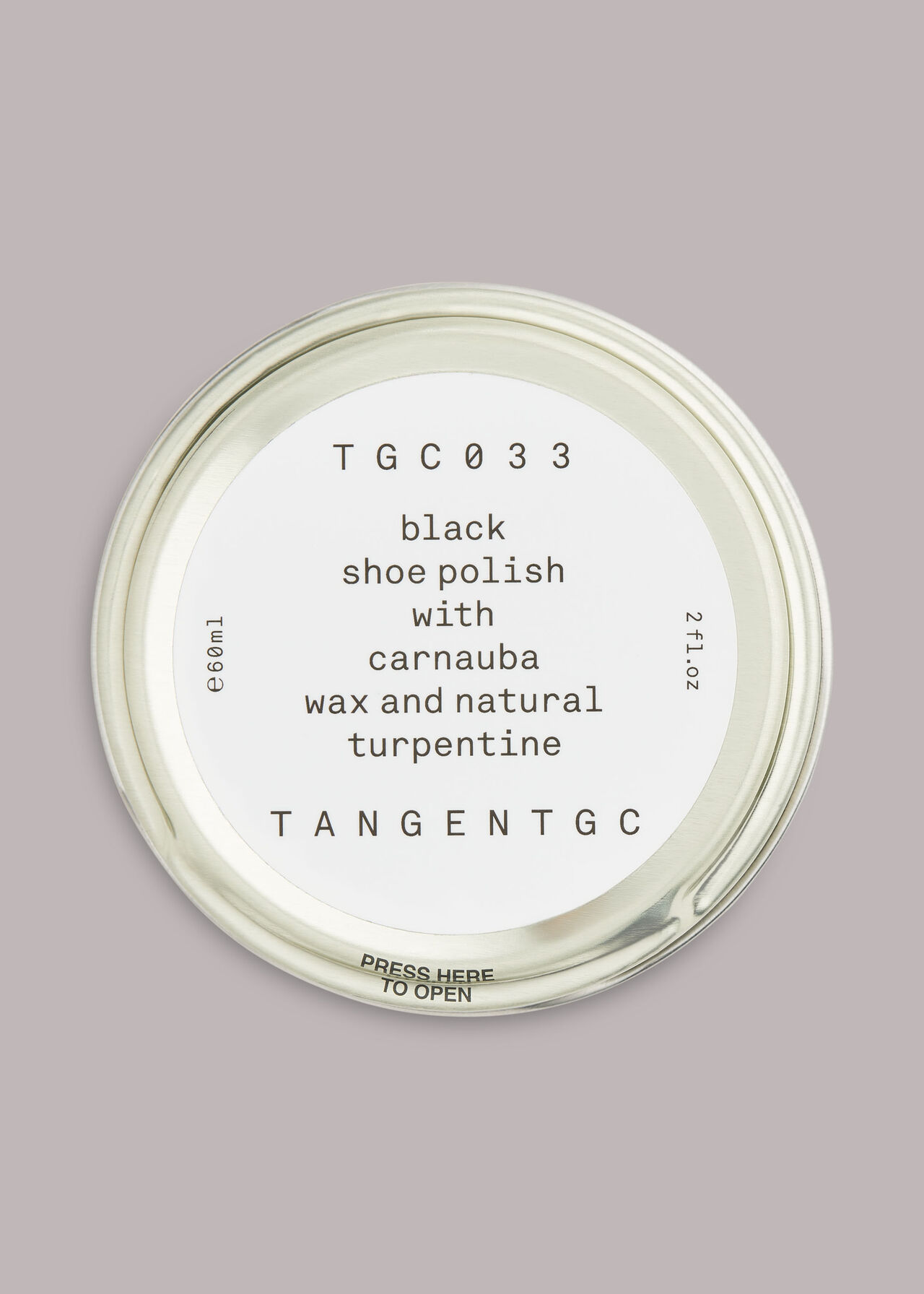 Tangent GC Black Shoe Polish