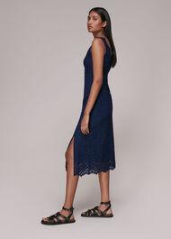 Nova Lace Midi Dress