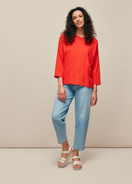 Cotton Pocket Top
