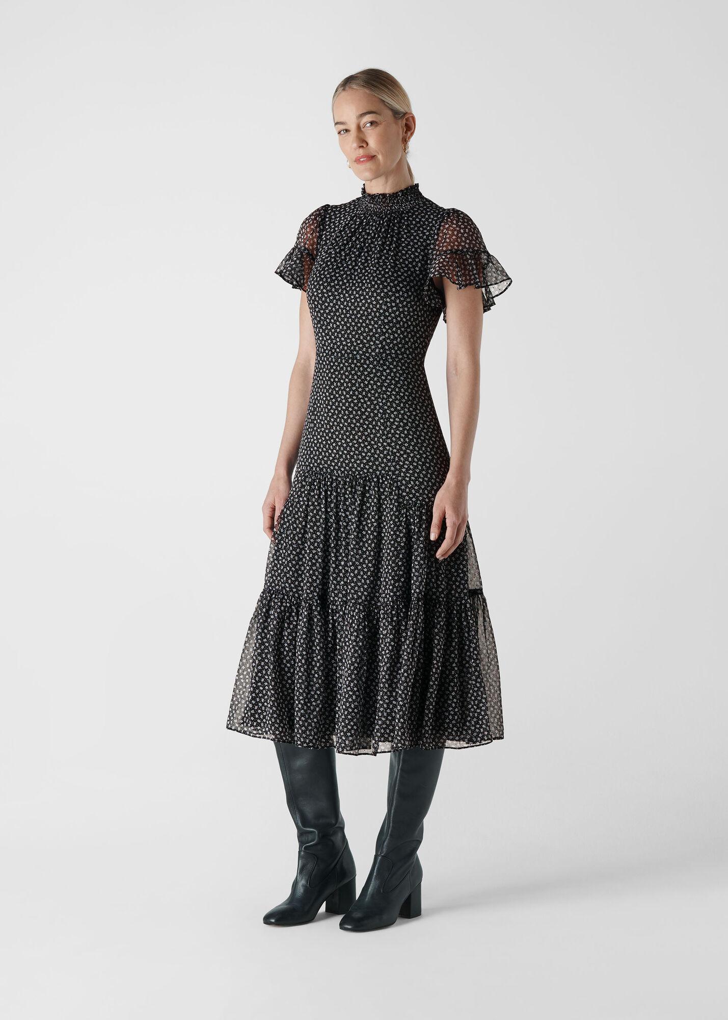 Almond Blossom Misha Dress