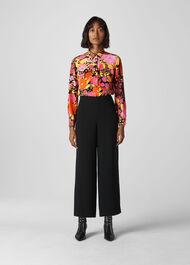 Luella Bloom Silk Shirt Multicolour