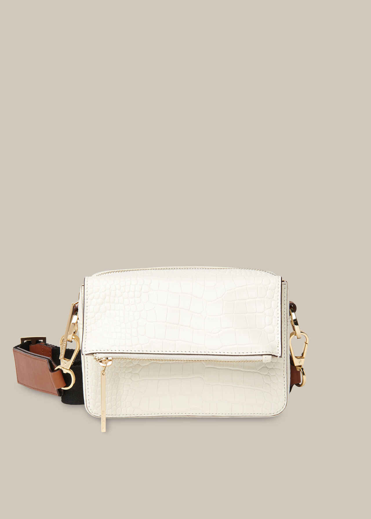 Millie Croc Crossbody Bag