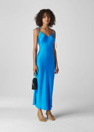 Dagma Slip Dress Blue
