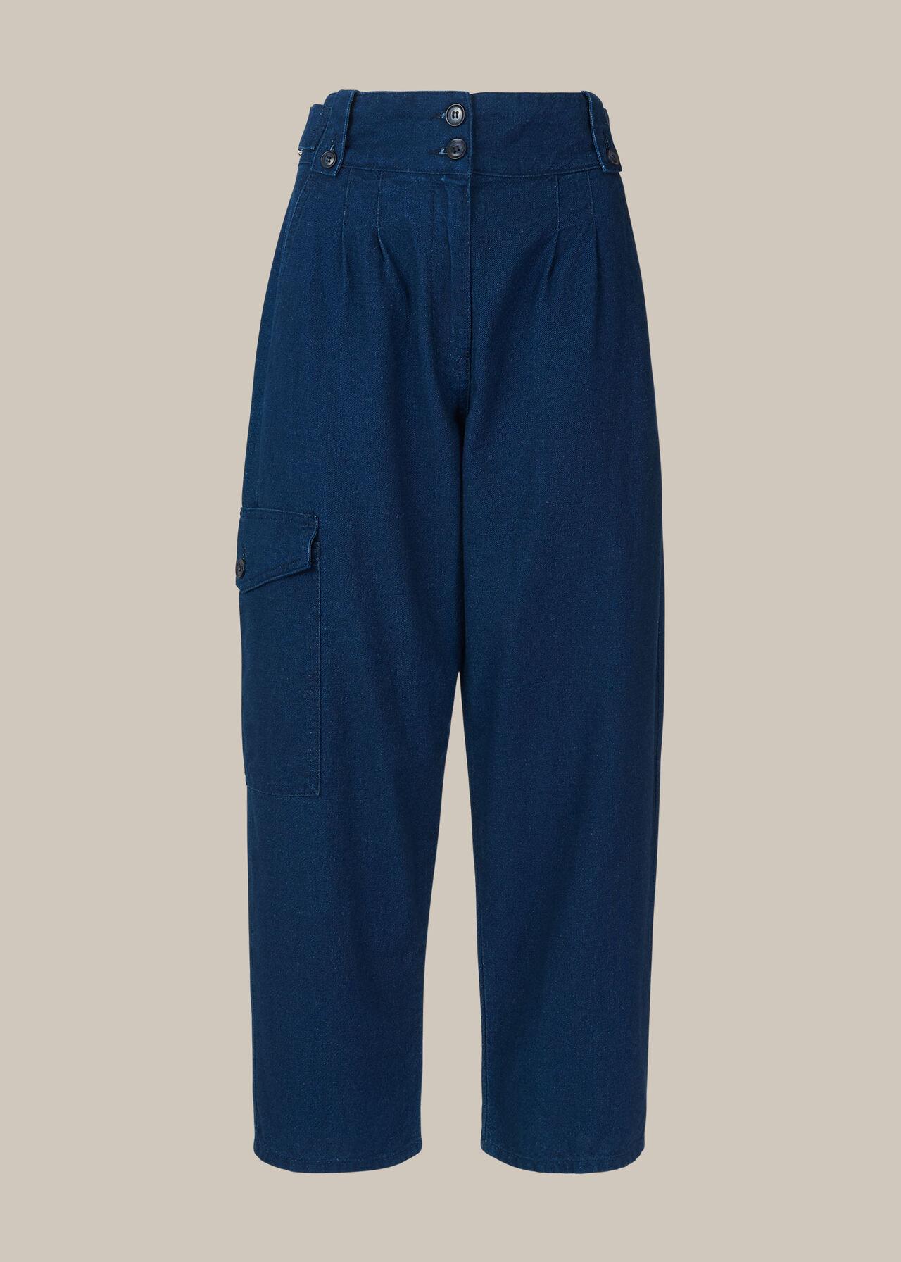 Indigo Cargo Trouser