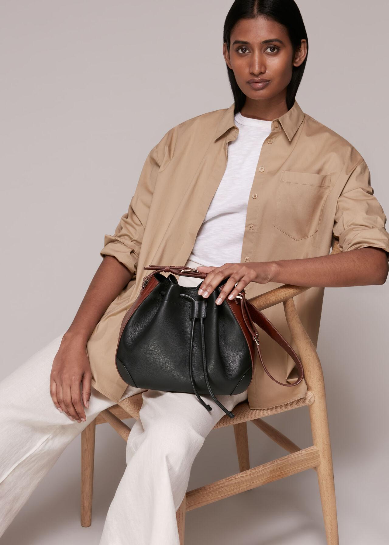 Derin Drawstring Shoulder Bag