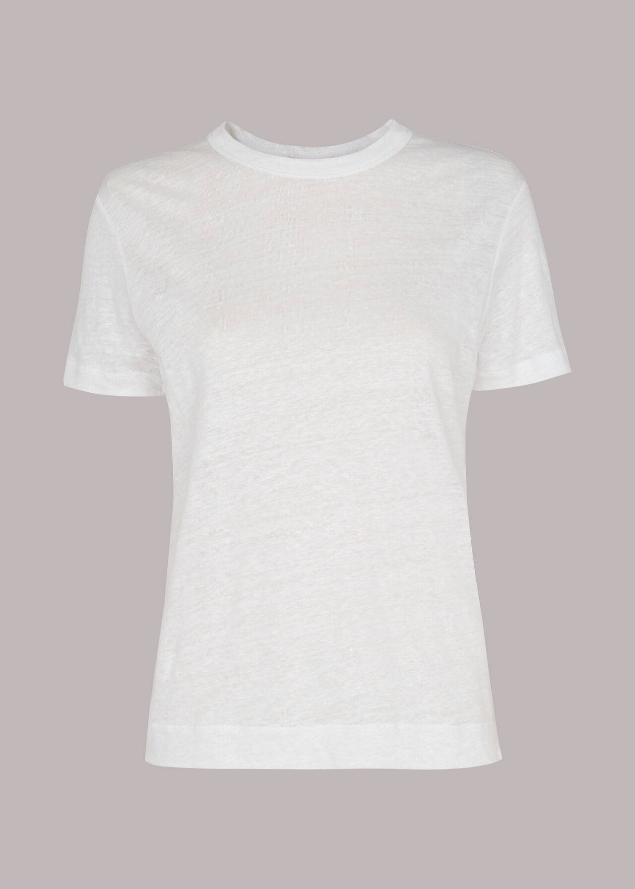 Ultimate Linen T-Shirt White