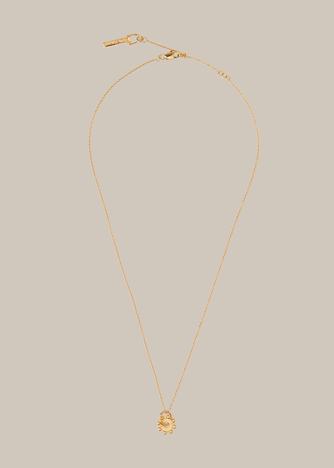 Beaded Sunray Necklace